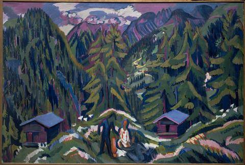 Town and Country - Ernst Ludwig Kirchner