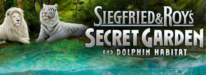 siegfried roys secret garden and dolphin habitat discount tickets - Siegfried And Roy Secret Garden