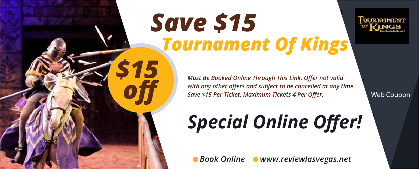 Tournament Of Kings Coupon