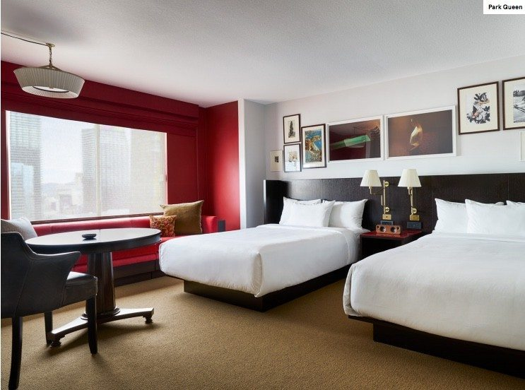 Park MGM Queen Room Beds
