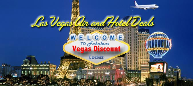 vegas air and hotel deals