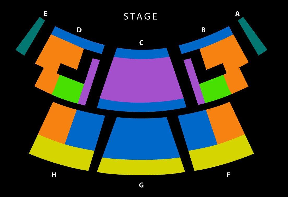 Celestia Las Vegas Seating Chart