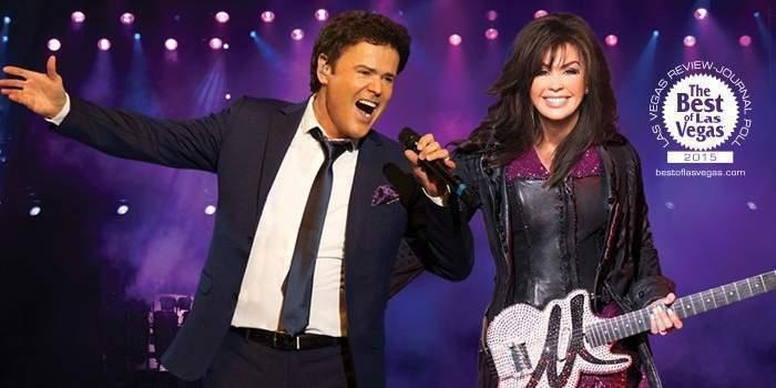 Donny and Marie Las Vegas Promotion Code – $40 Off Ticket