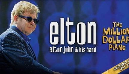 Elton John The Million Dollar Piano Promotion Codes and Discount Tickets