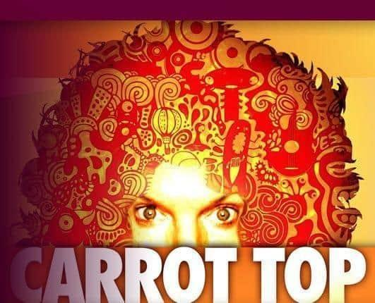 Carrot Top Las Vegas Promo Code – 20% Off Show Tickets