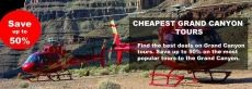Cheapest Grand Canyon Air Tours From Las Vegas