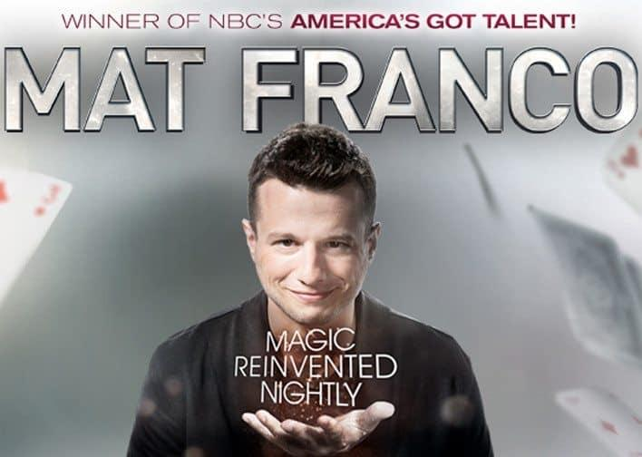 Mat Franco Ticketmaster Promo Code – $20 Off Tickets