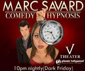 Marc Savard Comedy Hypnosis Discount Ticket Offer – Save 80%