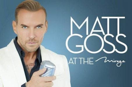 Matt Goss Las Vegas Promo Code – 2 For 1 Tickets