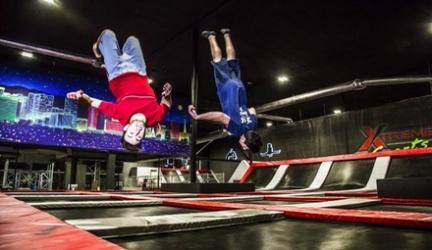 Up to 66% Off Trampoline Jump Sessions at Flip N Out Xtreme