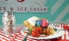 20% Cash Back at Lucy's Waffles & Ice Cream