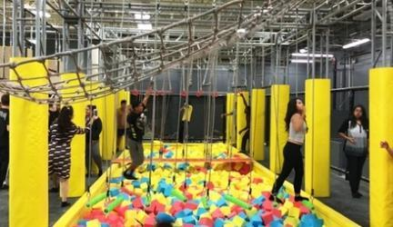 Up to 54% Off at Xplozone Trampoline Park