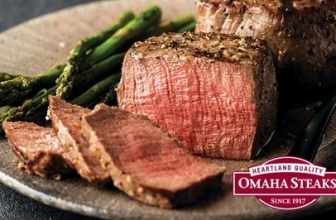 Up to 77% Off Barbecue Packages from Omaha Steaks