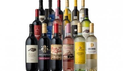 79% Off 18-Bottle Wine Pack from Splash Wines