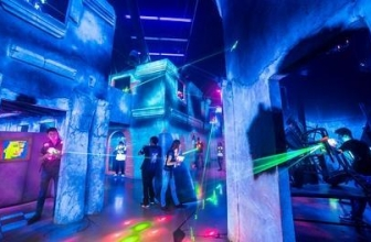 Up to 50% Off at Battle Blast Laser Tag