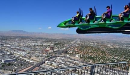 Up to 35% off Thrill Rides at Stratosphere Casino Hotel & Tower
