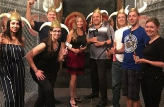 Up to 62% Off Axe Throwing at Axehole Vegas