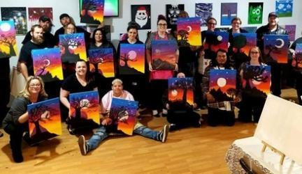 Up to 52% Off Paint Night at Paint & Puff