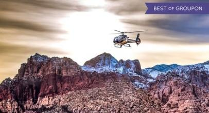 Up to 79% Off Red Rock Helicopter Tour and Comedy Magic Show