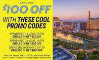 $100 Off Las Vegas Hotels, Shows, or Tours